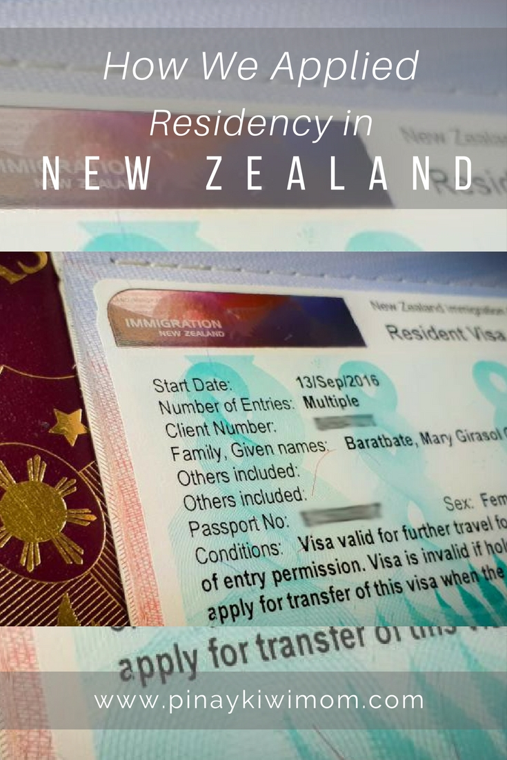 How We Applied Residency in New Zealand | Pinaykiwimom