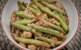 String Beans Adobo with Ground Pork