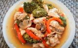 Chicken Broccoli with Mushroom
